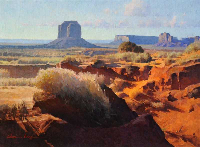 Monument Valley by  Calvin Liang - Masterpiece Online