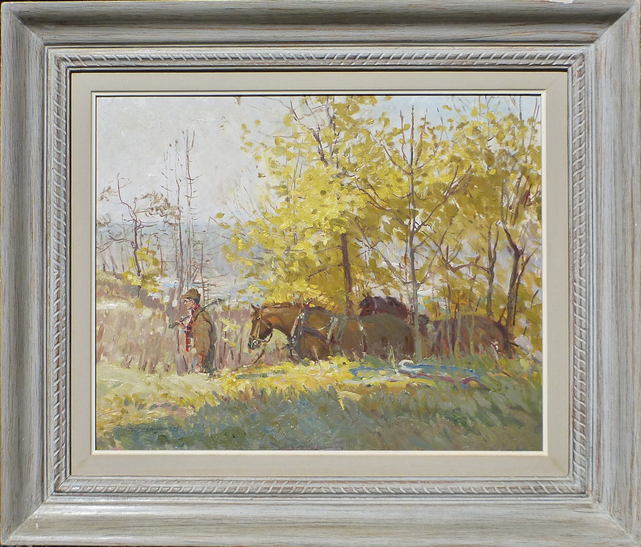 Off Logging by  Robert Lougheed - Masterpiece Online