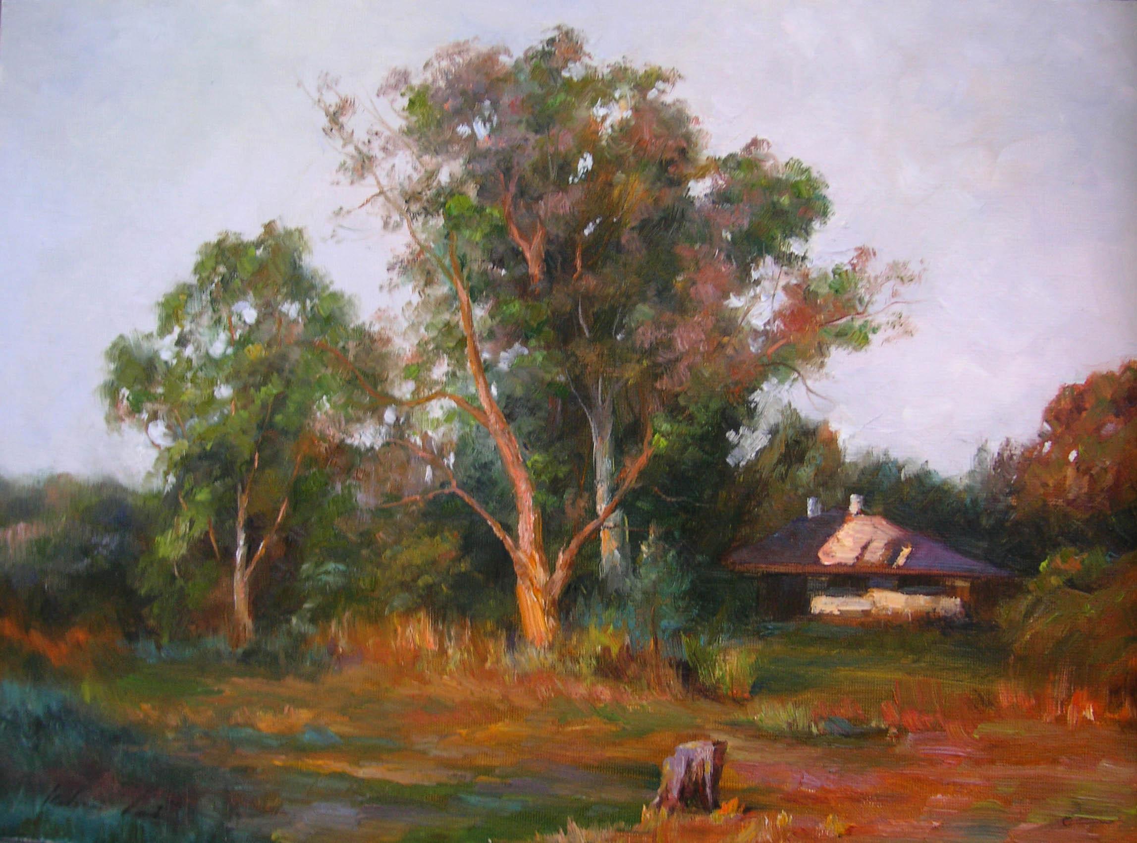 Nestled Cottage by  Kelvin  Lei - Masterpiece Online