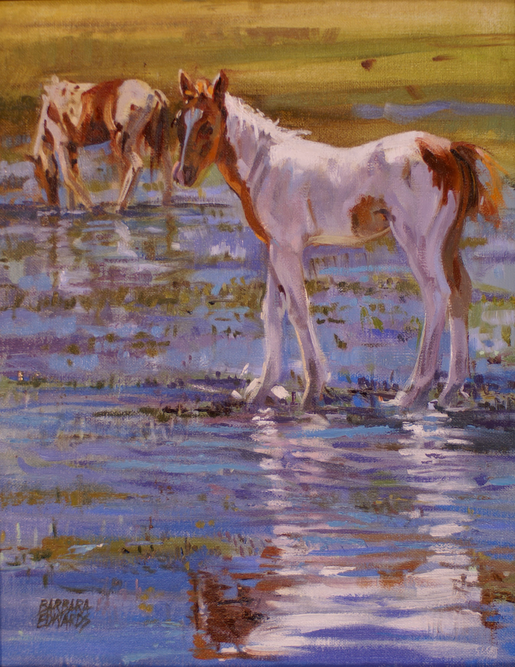 Painted Reflections by  Barbara Summers Edwards - Masterpiece Online