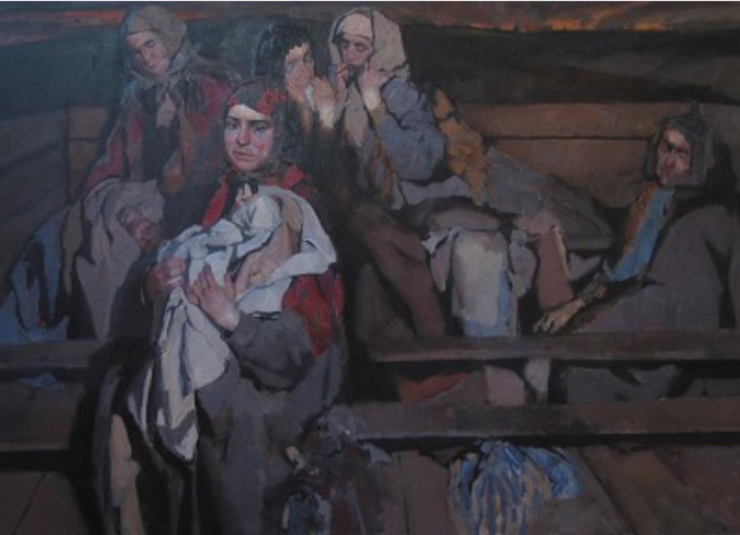 Refugees by  Daud Akhriev - Masterpiece Online