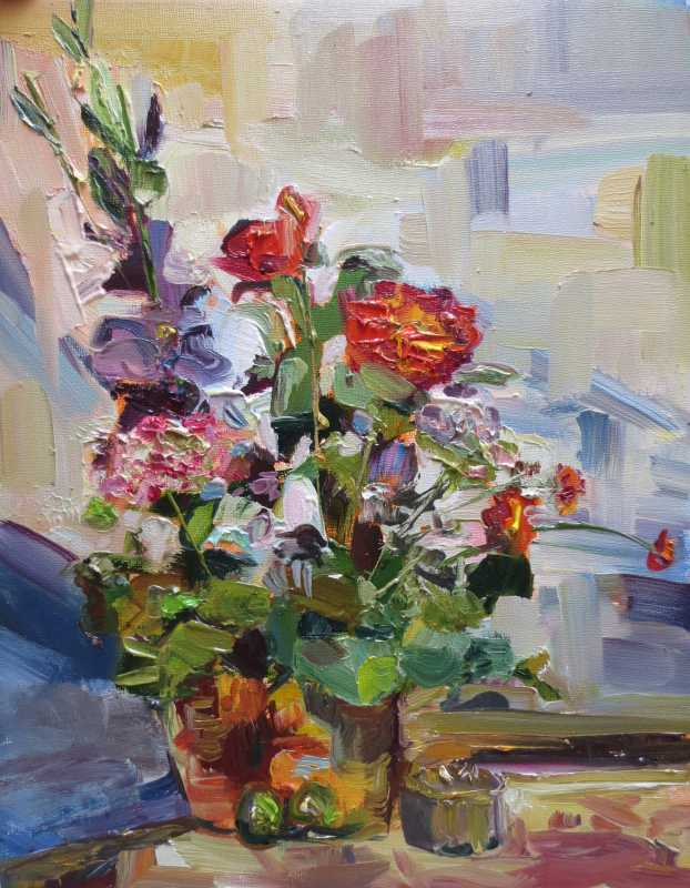 Floral #3 represented  by  Brooke Borcherding