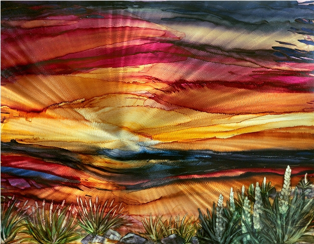 Sunset Horizon by  Lynn Rae Lowe - Masterpiece Online