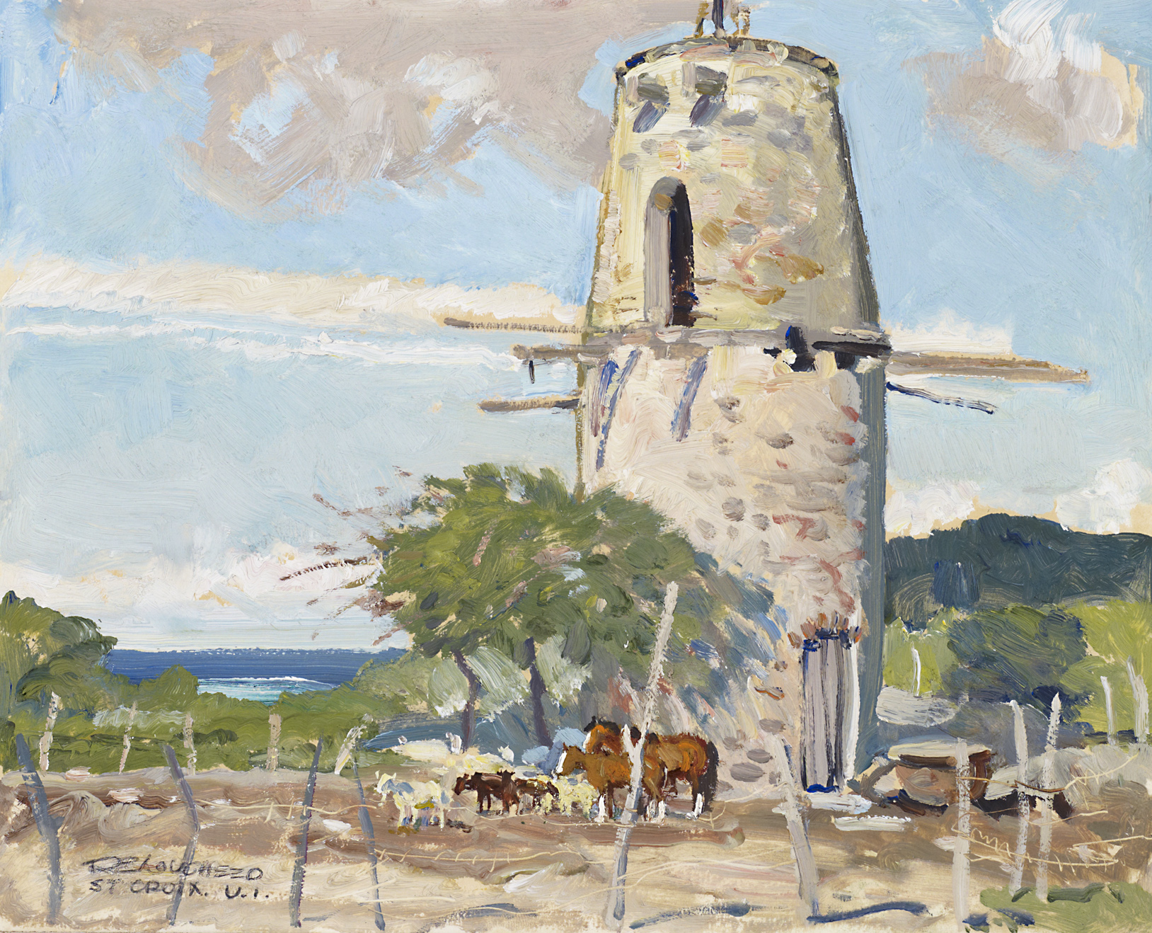 Mill, St. Croix by  Robert Lougheed - Masterpiece Online