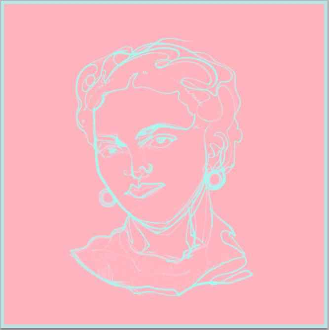 Cotton Candy Frida by  Nicolle Dhimes - Masterpiece Online