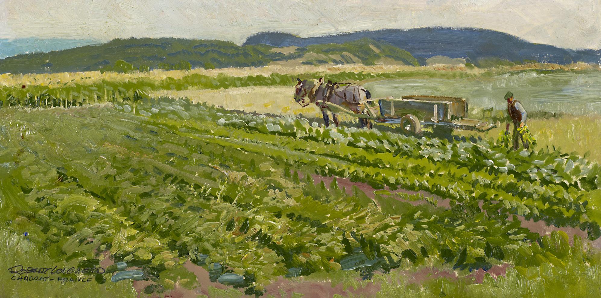 Louis' Garden by  Robert Lougheed - Masterpiece Online