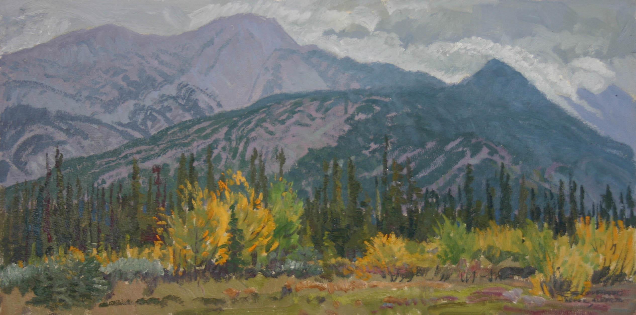 Jasper, Alberta by  Robert Lougheed - Masterpiece Online