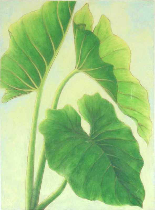 Three Leaves by  Mari Kuramochi - Masterpiece Online