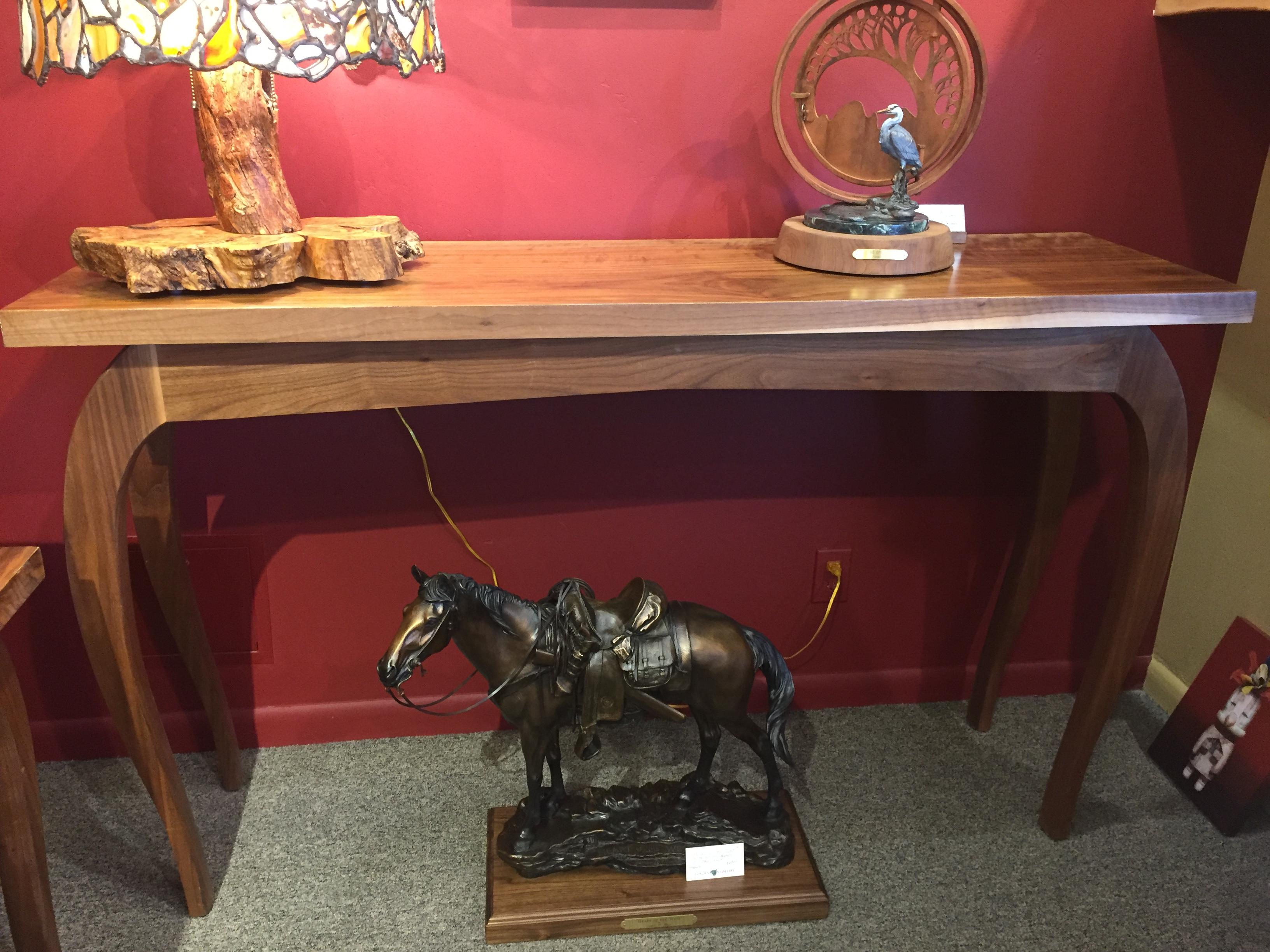 Walnut Sideboard Table by  Judd Lotts - Masterpiece Online