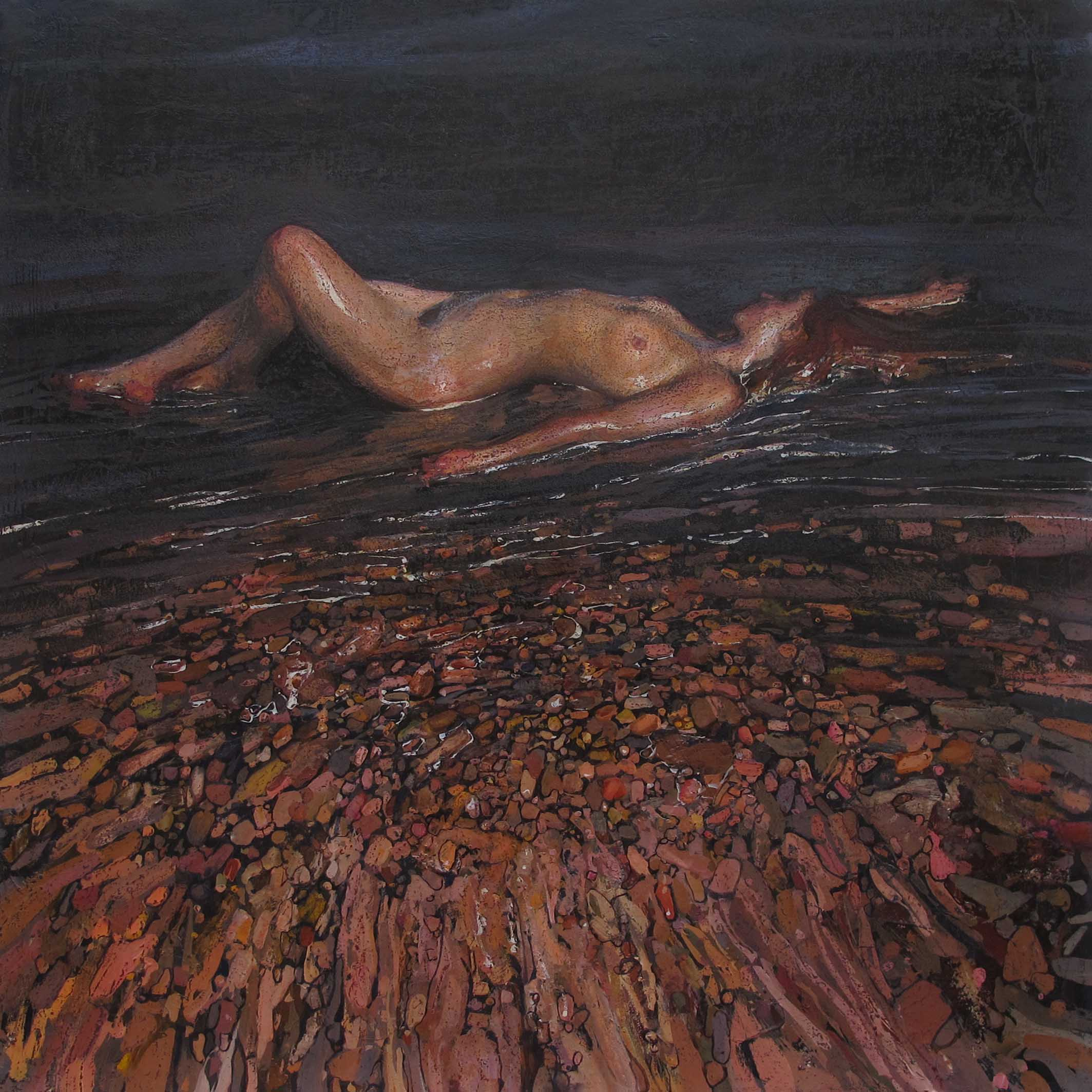 Night by  Daud Akhriev - Masterpiece Online