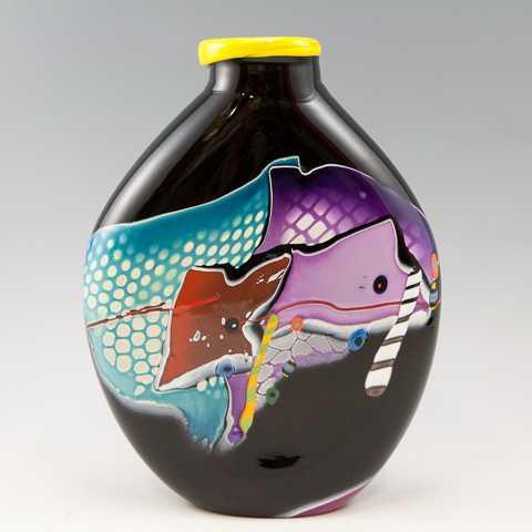 Vase/Black Shard by  James Wilbat - Masterpiece Online