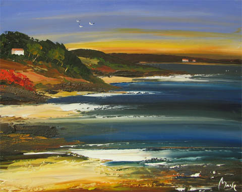 Carmel Sunset by  Louis  Magre - Masterpiece Online