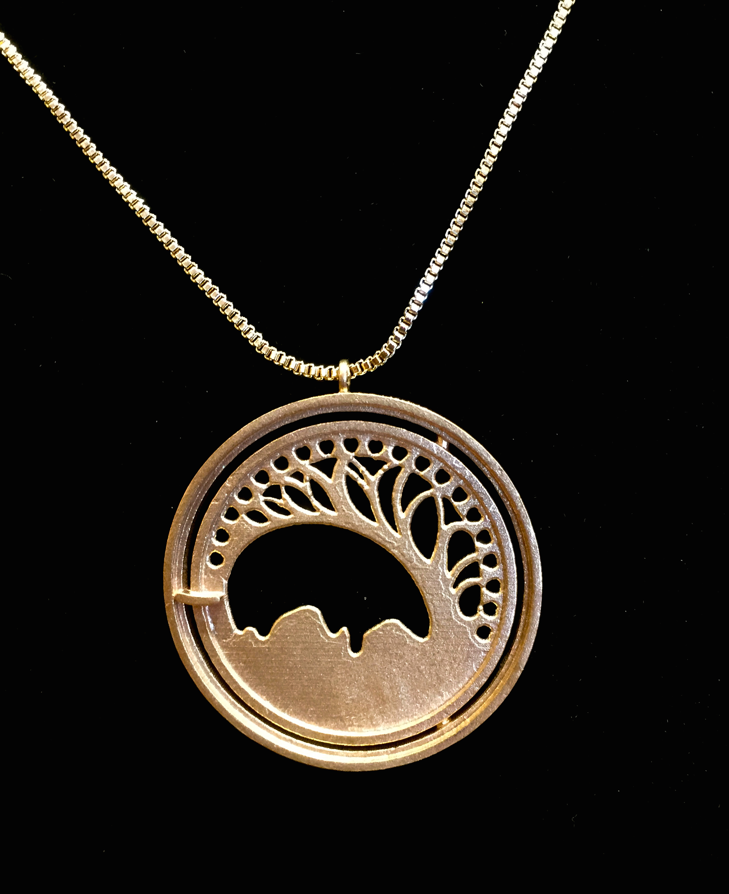 The Open Gate Pendant... by  Reagan Word - Masterpiece Online
