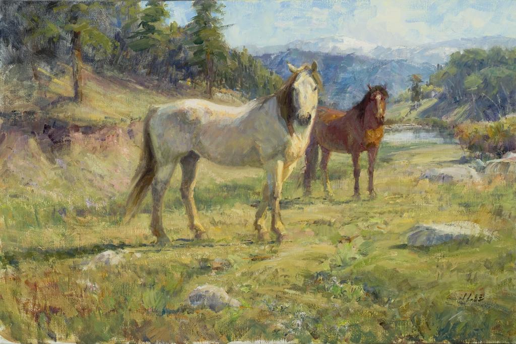 Rocky Mountain High by  Joyce Lee - Masterpiece Online