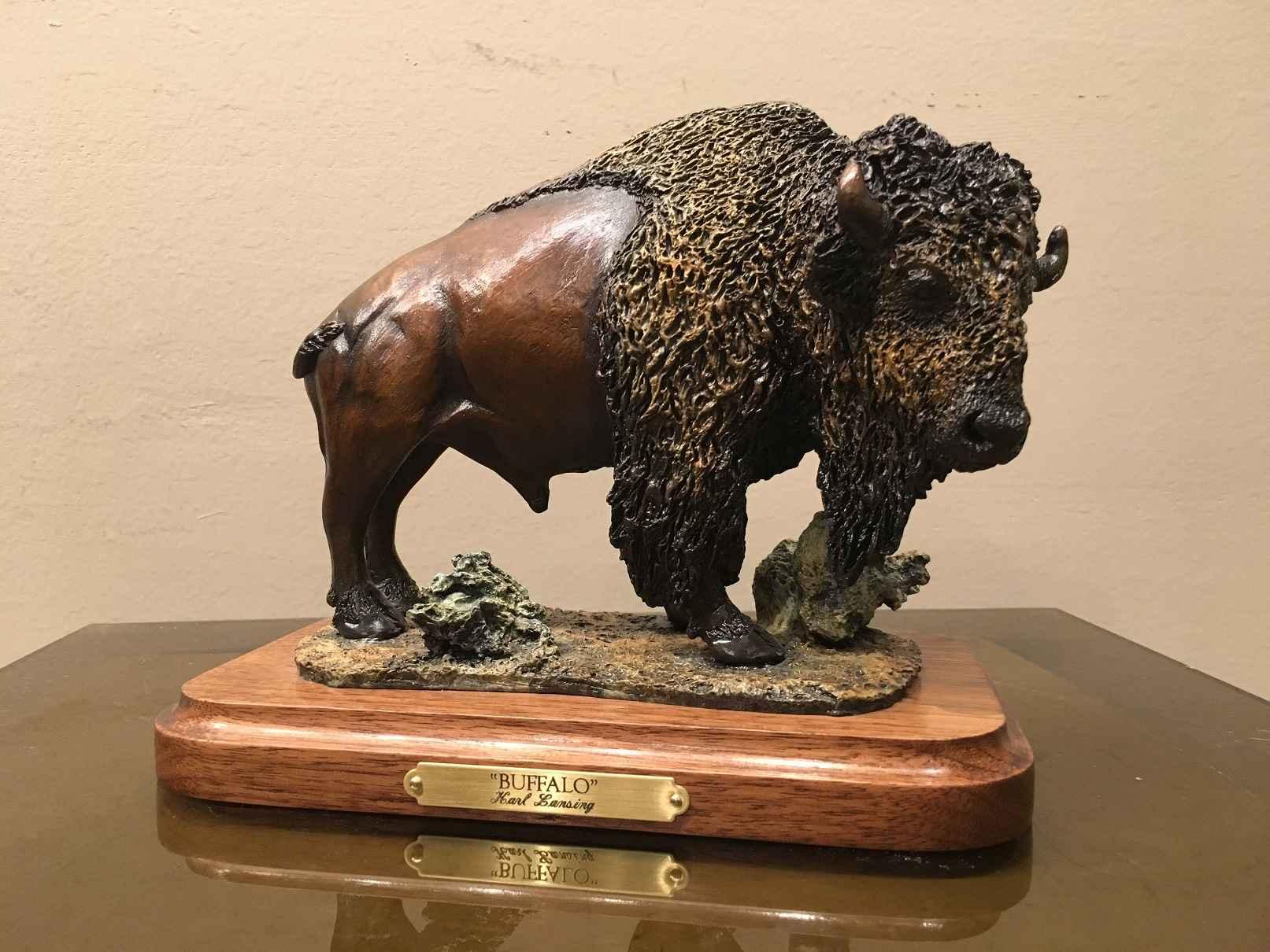 Mini Buffalo #17/75 by  Karl Lansing - Masterpiece Online