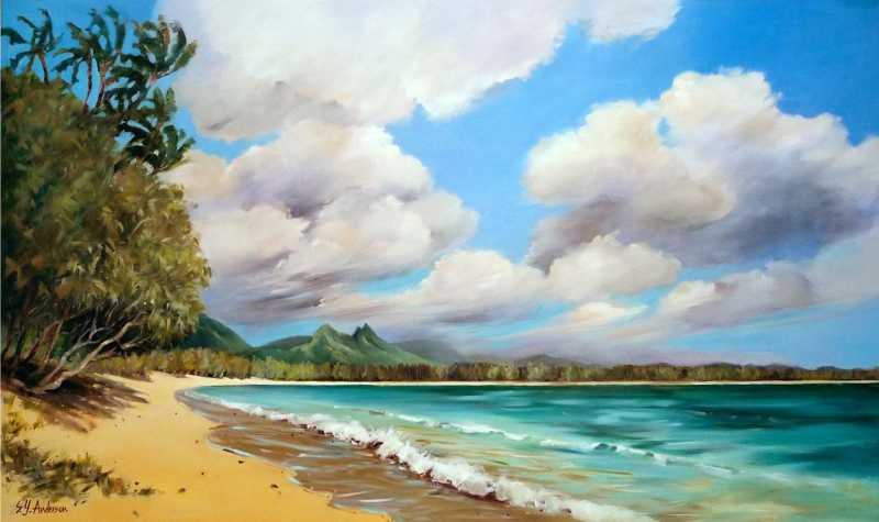Tradewind Blows by  Susie Y. Anderson - Masterpiece Online