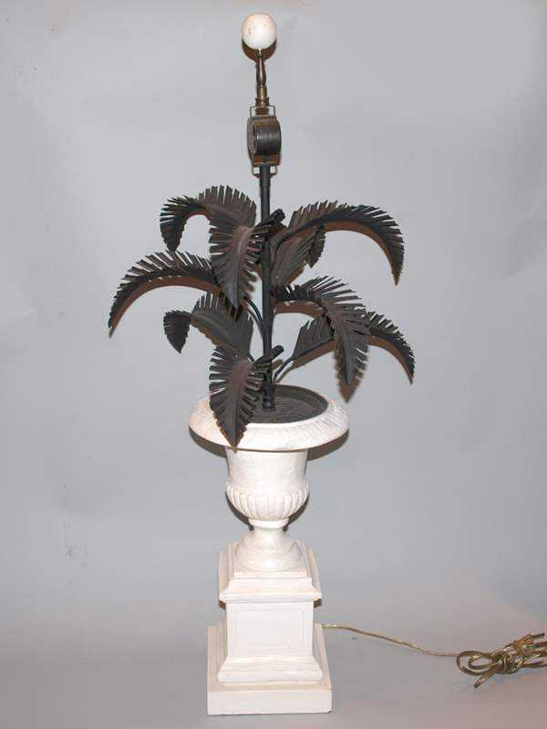 Single Palm Tree Lamp by  None None - Masterpiece Online