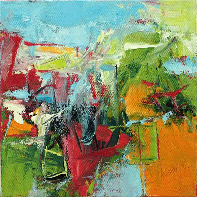 Really Into It by  Nancy Teague - Masterpiece Online