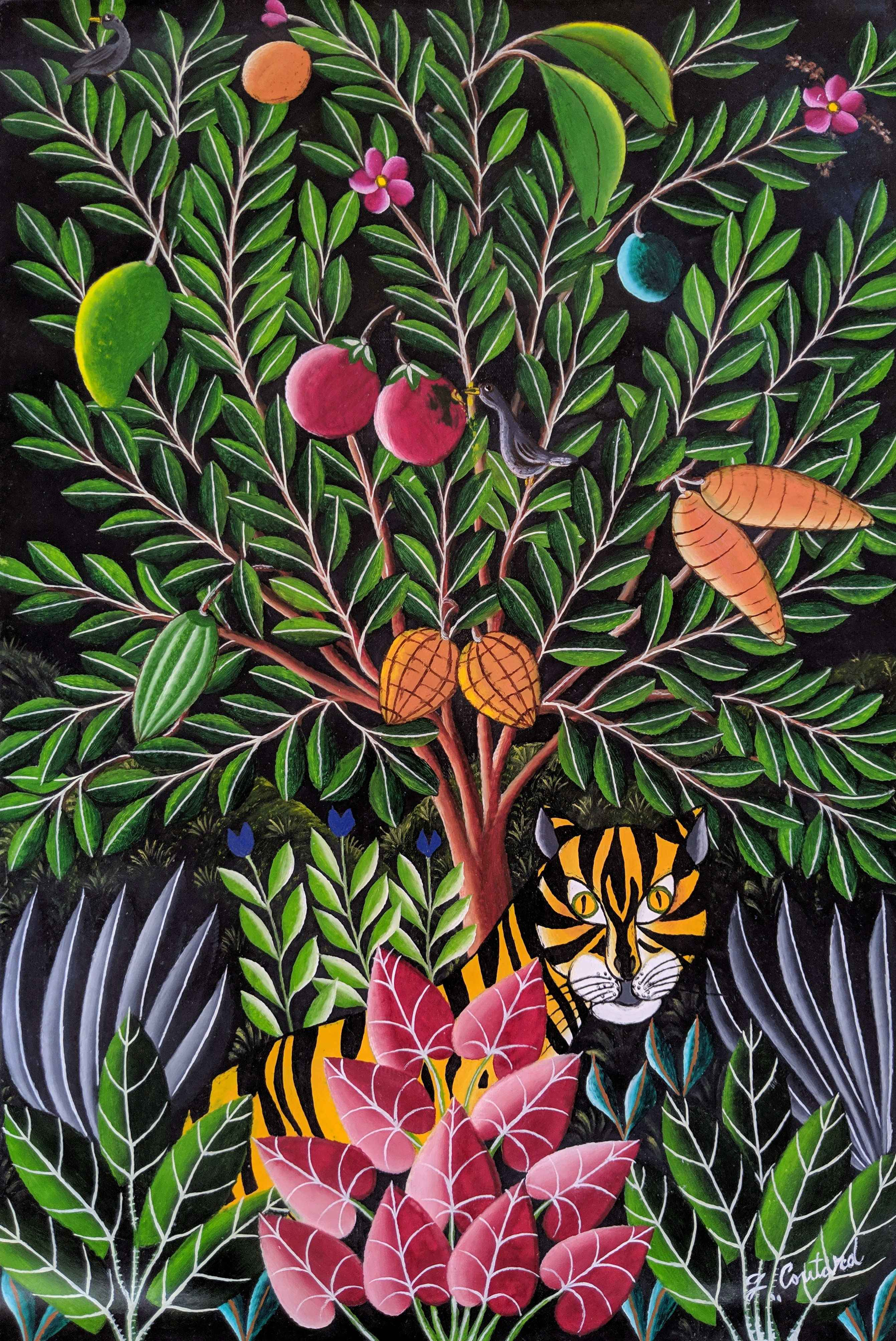 Fruity tiger by  Gabriel COUTARD - Masterpiece Online