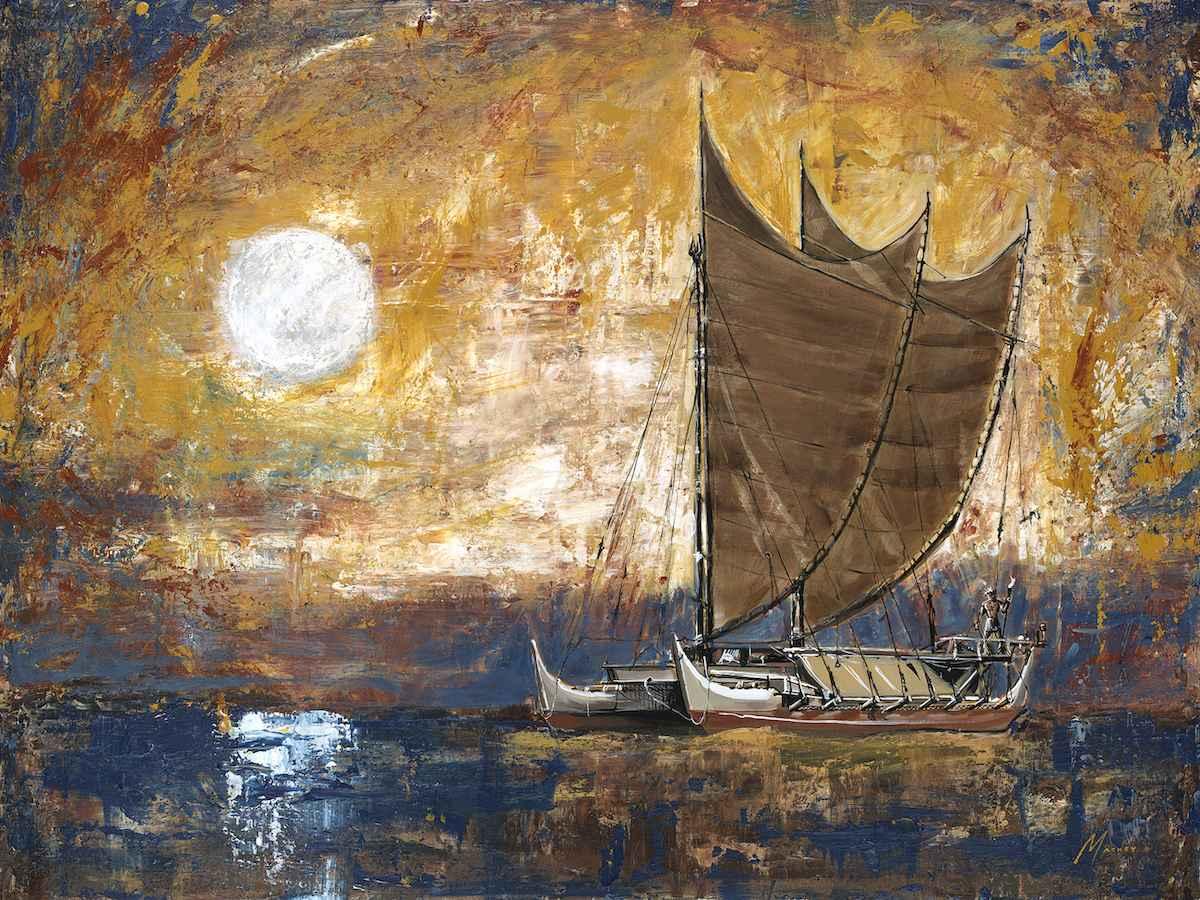 Hokulea Moon by  Shawn Mackey - Masterpiece Online