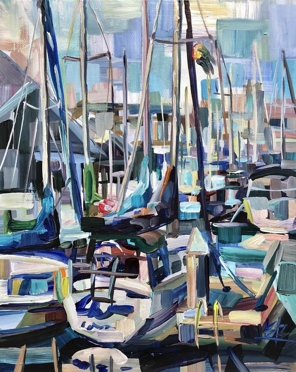 Edmonds Marina by  Brooke Borcherding - Masterpiece Online
