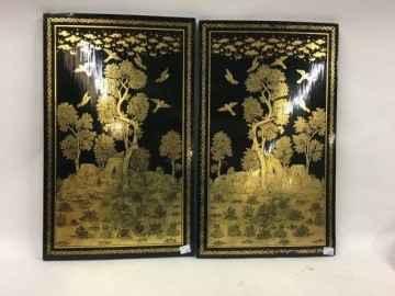 PAIR PAINTED DOORS by    - Masterpiece Online