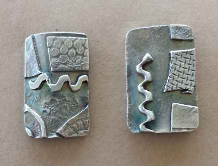 Silver Fusion Post Ea... by Ms. Nancy Going - Masterpiece Online