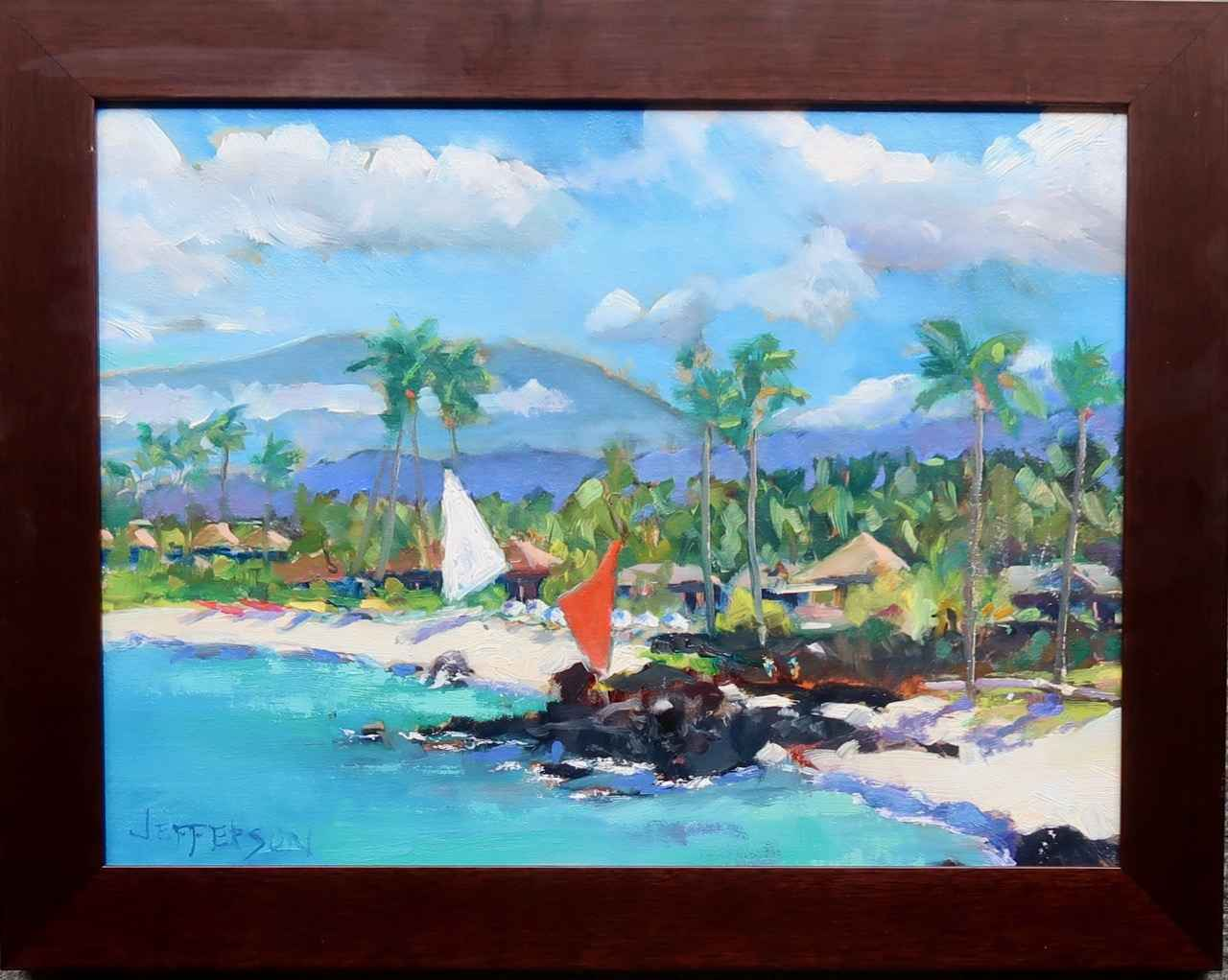Kukio Bay by Mr. & Mrs. Peter Jefferson - Masterpiece Online
