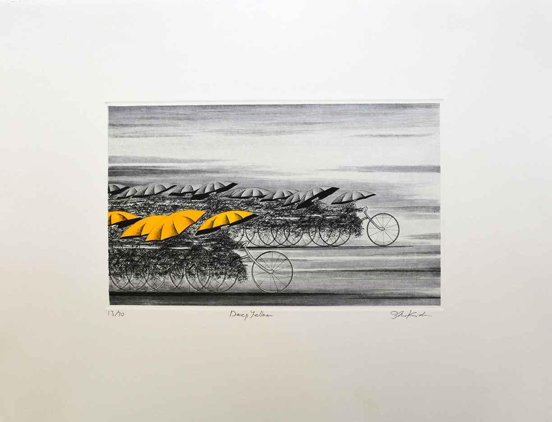 Deep Yellow by  Shigeki Kuroda - Masterpiece Online