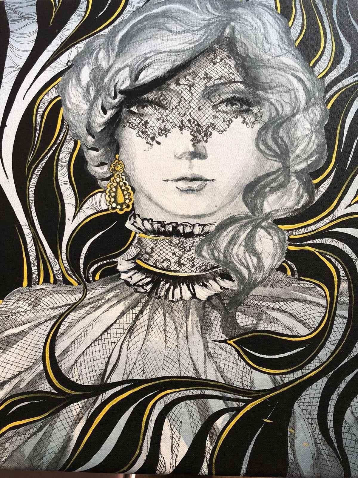Original Oil on Canva... by  Anisa Vilner - Masterpiece Online