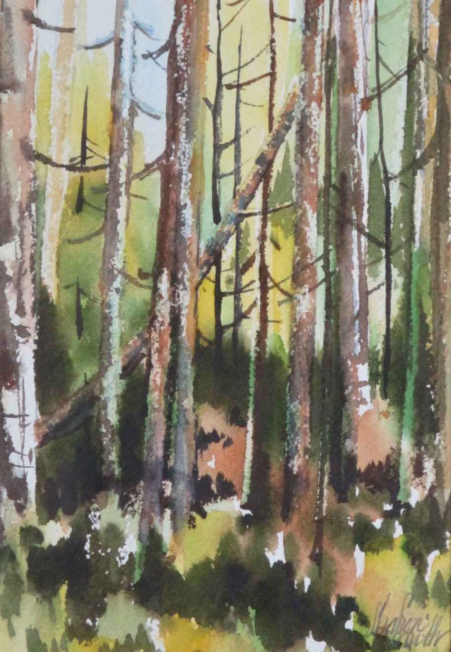 Untitled (Trees) by  Sharon Smith - Masterpiece Online