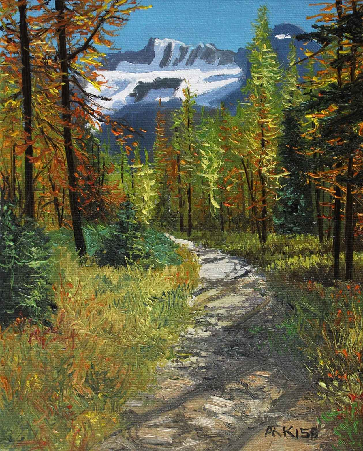 Larch Valley by  Andrew Kiss - Masterpiece Online