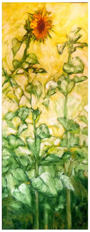 Sunflower by  Bruce Fortney - Masterpiece Online