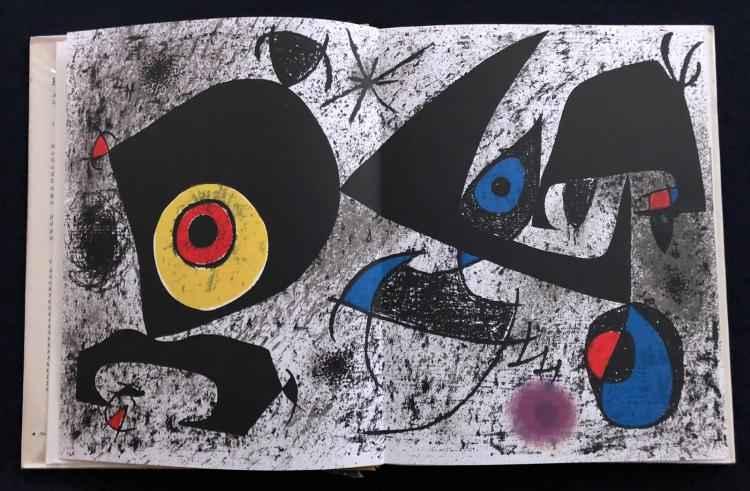 Joan Miro Hommage 'a ... by  Joan Miro - Masterpiece Online