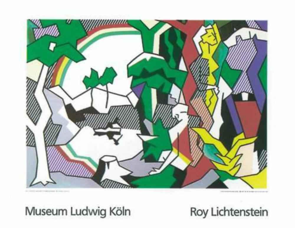Landscape with Figure... by  Roy Lichtenstein - Masterpiece Online