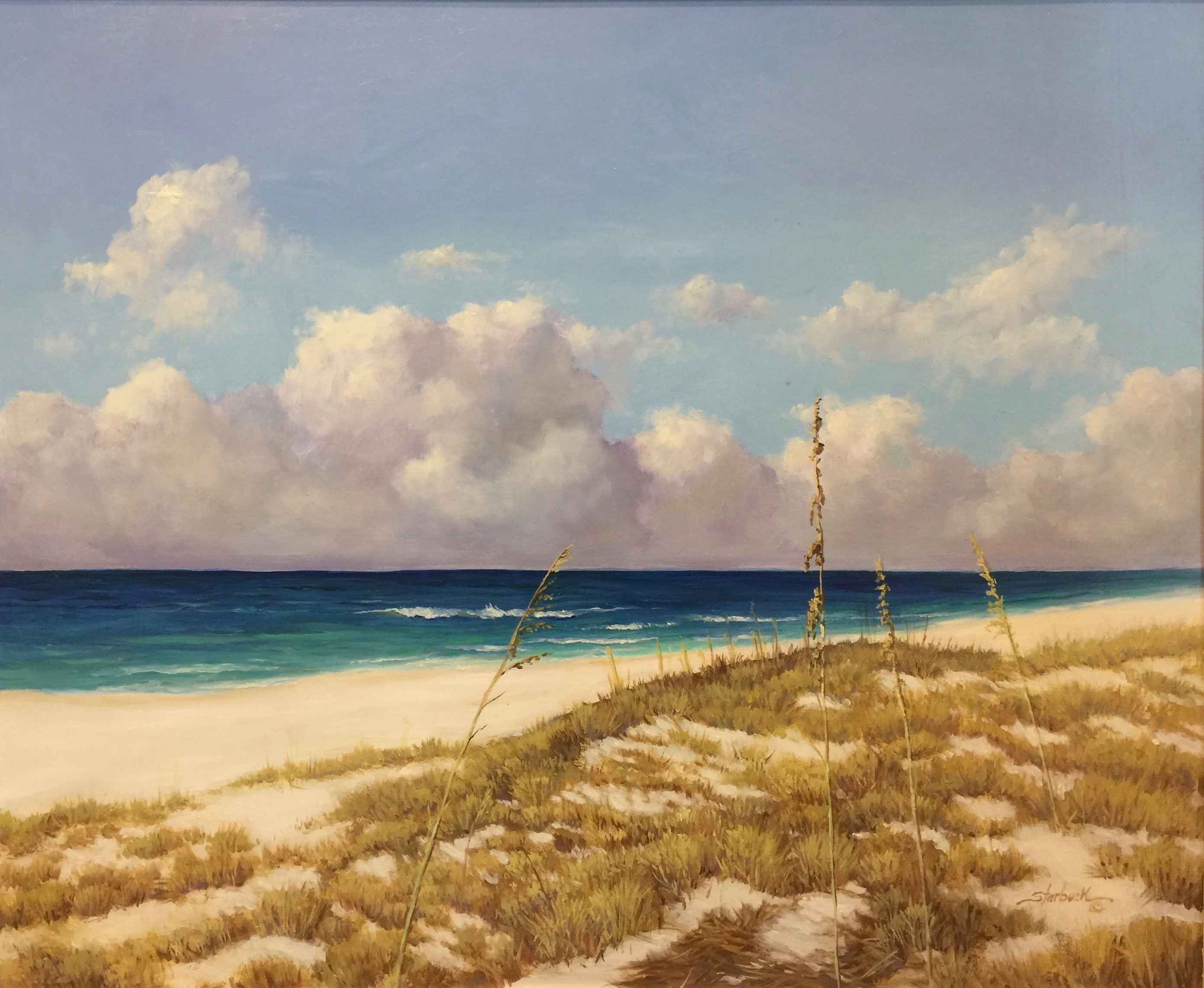Dunes by the Sea  by  Dorothy Starbuck