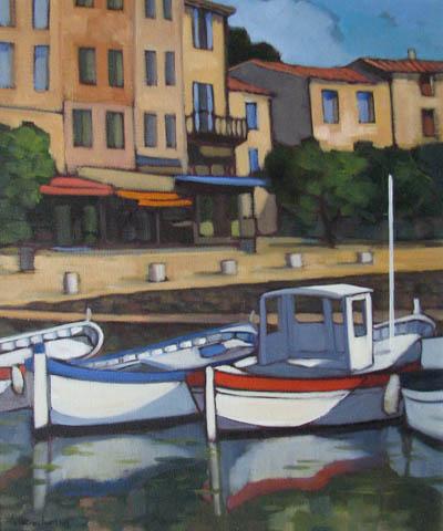 Bateaux a Corsis by  Lorraine  Jordan - Masterpiece Online