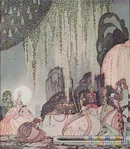 Ladies Arriving  by  Kay Nielsen