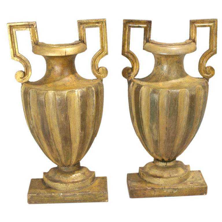 Pair of Split Antique... by  Italian  - Masterpiece Online