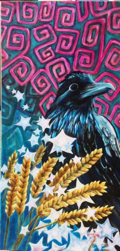Raven's Starry Night by  Kenna Graff - Masterpiece Online