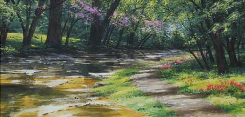 Woodland Path by  Michael Wheeler - Masterpiece Online