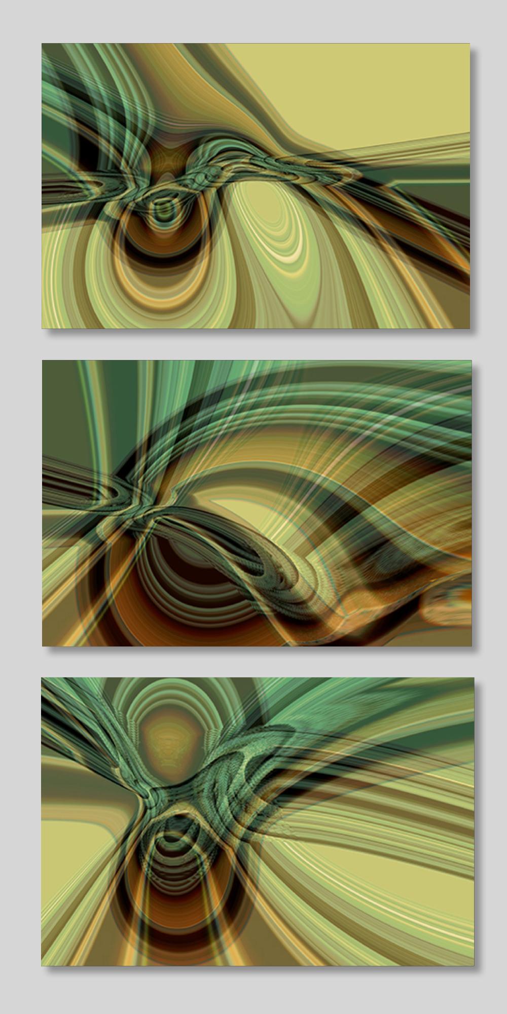 Cream and Green Séque... by  Pietro MAFFEI - Masterpiece Online