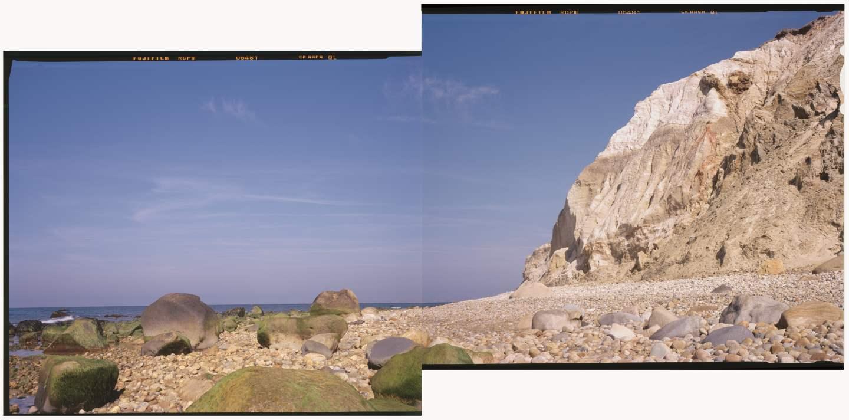 Aquinnah Cliffs at Lo... by  Jhenn Watts - Masterpiece Online