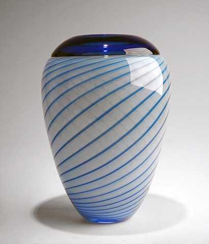 Purdy Pot/Aqua w/Ceru... by  Mark Leputa - Masterpiece Online