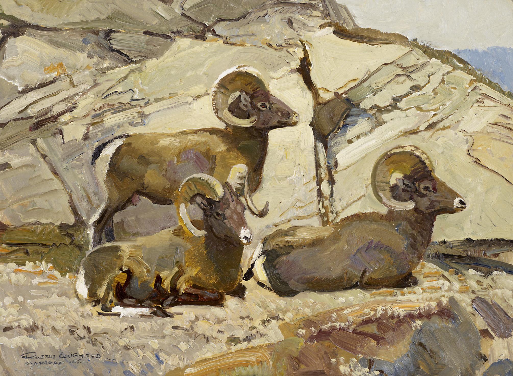 Okanagan GF, BC - She... by  Robert Lougheed - Masterpiece Online