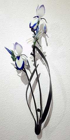 Wallpiece/Iris w/Drag... by  Loy Allen - Masterpiece Online