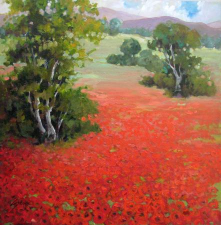 Rhapsody in Red by  Eva Szorc - Masterpiece Online
