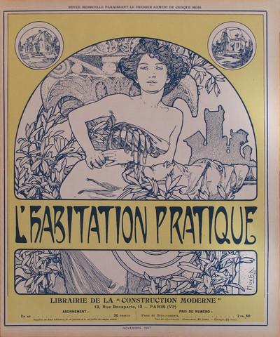Habitation Pratique (... by  Alphonse Mucha - Masterpiece Online