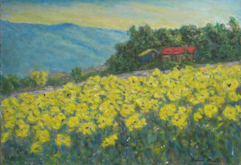 Wild Yellow Flowers by  Andres  Morillo - Masterpiece Online