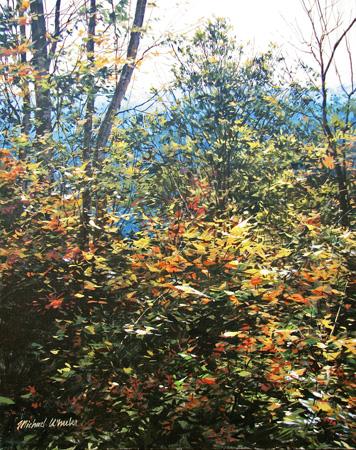 Hilltop Foliage - Oct... by  Michael Wheeler - Masterpiece Online